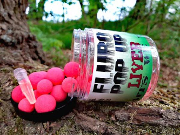 Liver pink Fluro Pop Up´s